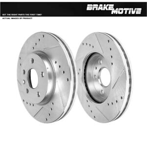 For 2011 - 2016 Chevy Cruze 2012 - 2015 Sonic Front Drill Slot Brake Rotors