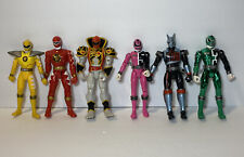 Bandai Power Rangers Lot Of 6 From 2003,2004 & 2005