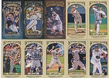 2011 TOPPS GYPSY QUEEN MINI VARIATION BOX OF 10 CARDS * HOBBY