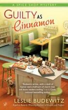 Leslie Budewitz - A Spice Shop Mystery: Guilty As Cinnamon #2 -NEW, FREE Ship