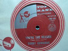 "Bobby Edwards ""You're The Reason"" 1961 TOP RANK Oz 7"" 45rpm"