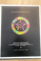 SISTERS OF MERCY Hits Vol One UK Poster size Press ADVERT 12x10 inches
