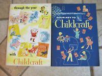 Through The Year with Childcraft (1955) & Your Key To Childcraft (1954) Set