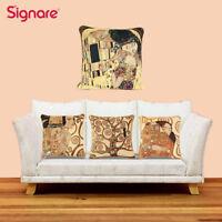 Tapestry Pillowcase Cushion Cover Gustav Klimt Art Home Decor