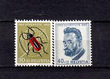 Schweiz  591 und 592 aus Pro Juventute 1953, 2 Werte postfrisch, siehe Bild