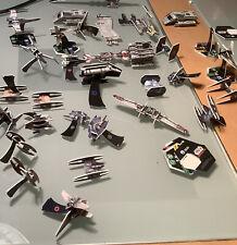 Star Wars Pocket Models. 30 + Assorted Star Wars Vehicle Models. TCG.