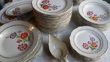 Service KG LUNEVILLE ALTHEA composé de 53 pièces Assiettes, plats