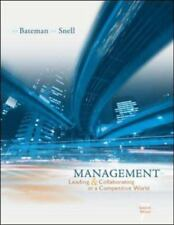 Management: Leading And Collaborating in the Competitive World with Online Learn
