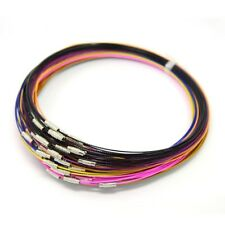 10 Neck Wire Steel Neck Wire Choker Necklace Assorted Choker Neckwire Wholesale