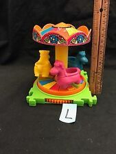 Vintage Kenner tree tots amusement park Merry Go Round Carousel Ride Toy Part
