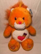 "New Care Bears Cousin Plush Brave Heart Lion Large 21"" Jumbo Big Stuffed Toy"