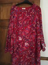 Papaya Red Dress Size 14