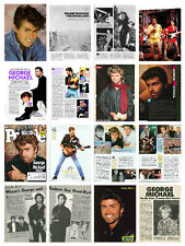 George Michael collection / lot  750+ magazine articles clippings & photos  M1