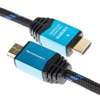 Cable HDMI 2.0b Ultra HDTV 4K 60Hz 18GB/Sec, HDR, 3D 3 metres souple