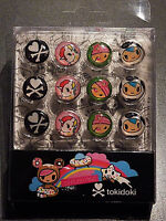 12x TOKIDOKI PUSH PIN PINNWAND-NADEL METALL PINS KAWAII UNICORNO MANGA ANIME NEU