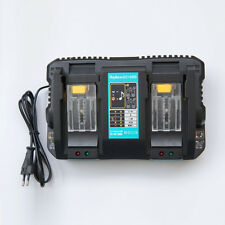 2-in-1 Makita DC18RD DC18RC DC18SF 14.4V/18V 4A Li-ion Battery Replace Charger