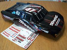 Traxxas 1/10 Slash #47 Black Red OBA Body Fits 4wd 2wd 4x4 VXL XL-5 Mike Jenkins