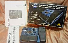 Behringer V-Amp X Multi Effects pedale chitarra elettrica in scatola + manuali