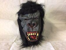 Gorilla Horror Halloween Mask Latex Adult Fancy Dress