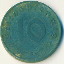 3RD GERMAN EMPIRE / 10 Reichspfennig, 1941, /  #WT11482
