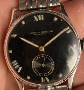 Baume et Mercier Vintage Black Dial