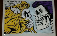 Dface D*Face  Banksy art Print Poster Street Graffiti Till Death Due Us Part