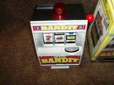 """ Collector- Vintage.Radica Bandit Savings Bank With Box # 130-Clean """""
