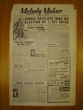 MELODY MAKER 1948 SEP 11 HARDIE RATCLIFFE JOHN BLORE