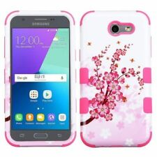 Housses et coques anti-chocs blanc Pour Samsung Galaxy J3 pour téléphone mobile et assistant personnel (PDA)