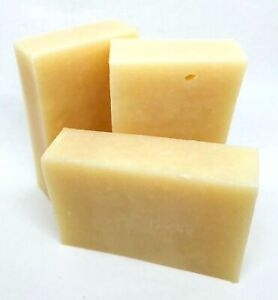 Natural Goats Milk Rustic Handmade Soap ECO Plastic Free Unscented Paraben Free