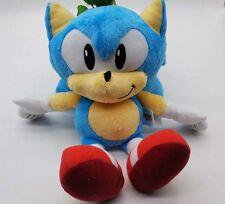 New Collectiion Tomy Sonic the Hedgehog Sonic Boom Big Head Plush Doll 12inch
