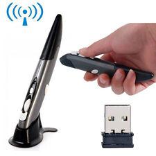 Regno Unito 2.4 GHz OTTICO USB WIRELESS PEN Mouse Pad per PC portatile dell' insegnamento del disegno