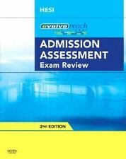Evolve Reach Admission Assessment Exam Review, HESI, 1416056351, Book, Good