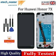 For Huawei Honor 7X LCD Black BND-L21 Touch Screen + Digitizer + Frame Assembly