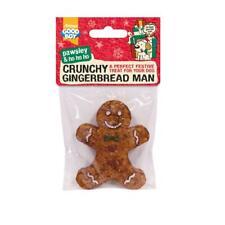 """Good Boy Dog Puppy Crunchy Gingerbread Man Munchy Rawhide Treat Chew 4"""""""