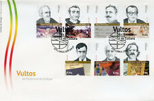 Portugal 2017 FDC Figures in History & Culture Raul Brandao 7v Set Cover Stamps