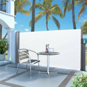 Side Panel Gazebo 3 x 1.2M Retractable Marquee Tent Panels Awning Outdoor Party