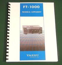 "Yaesu Ft-1000 Technical Manual: full set of 11""X17"" Foldouts & Protective Covers"