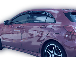 Weather Shields for Mercedes Benz A Class Hatch W176 (2012 - 2018 Models)