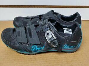 Pearl Izumi W X-Project 3.0 Cycling Shoes Black/Blue EU 40 Womens US Size 9
