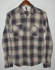 Nudie Jeans mens casual checks shirt Size S 100% cotton