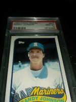 1989 Topps Traded  #57T Randy Johnson Mariners gem mint