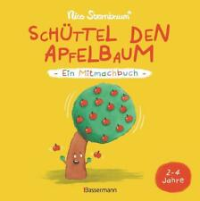 Mitmachbuch Kinder Schüttel den Apfelbaum Bilderbuch Kinderbuch Buch Pappbuch