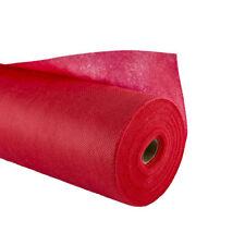 Rotolo tovaglia TNT rosso decorazioni natalizie 10mt x 100cm copribase presepe