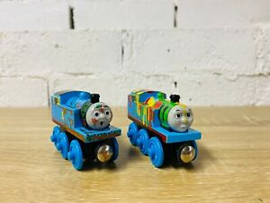 Mud Covered & Paint Splattered Thomas - Thomas & Friends Wooden Railway Trains