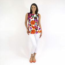 Cotton Regular Size Sleeveless Tops & Blouses for Women