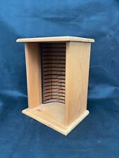 Pine Wooden Lovely CD/ DVD Rack Perfect Condition