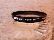 FOTOGRAFIA Filtro TIFFEN 52mm HAZE 1 USA  Perfecto Estado
