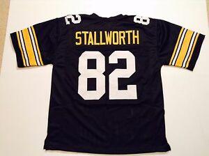 UNSIGNED CUSTOM Sewn Stitched John Stallworth Black Jersey - M, L, XL, 2XL, 3XL