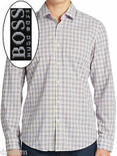 NWT Hugo Boss Black Label Regular Fit Sheck Pattern Sport Shirt Size S